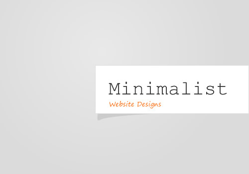 25 clean and minimalist website designs smashing wall for Minimalist design inspiration