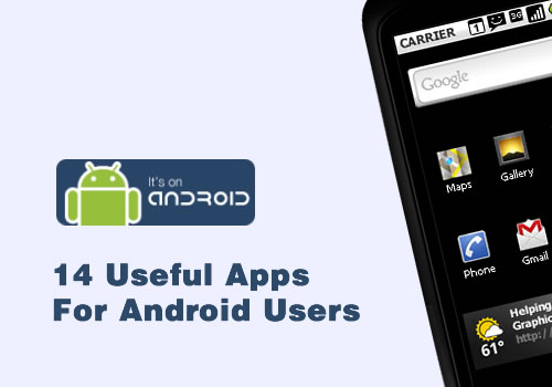 14 useful apps for android users smashing wall. Black Bedroom Furniture Sets. Home Design Ideas