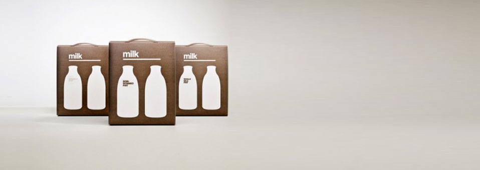 "21 ""Not so boring"" milk packaging design"