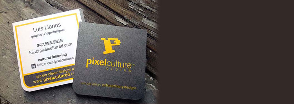 25 Excellent Typography Business Card Designs