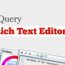 10 Free jQuery Rich Text Editors To Enhanced Your Web Application